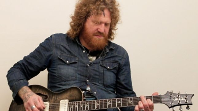 "MASTODON Guitarist BRENT HINDS Reveals Band Is Working On A Double Album - ""One Is An Album I Wrote Myself"""