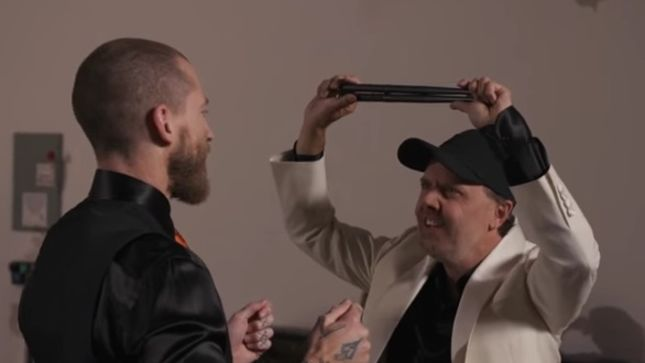 METALLICA - Hilarious Behind-The-Scenes Video Of Brioni Menswear Campaign