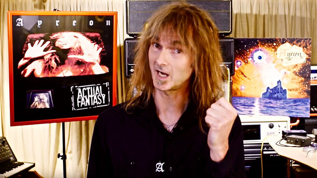 AYREON - The Final Experiment, Actual Fantasy: Revisited Albums To Be Reissued On Deluxe Vinyl In August; ARJEN LUCASSEN Issues Video Message