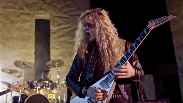 "SPELLCASTER Revive The 80s With ""Night Hides The World"" Music Video"
