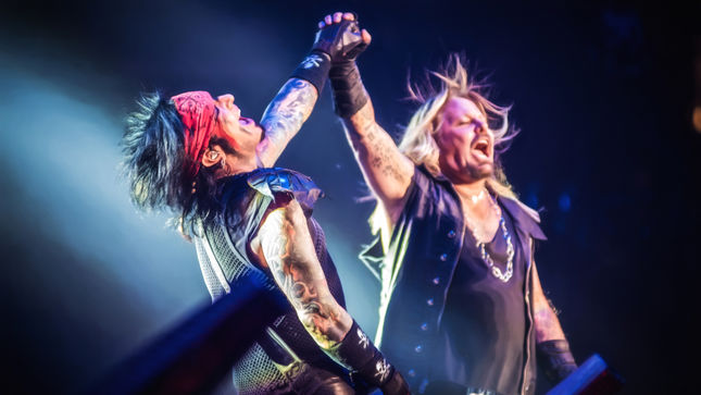 MÖTLEY CRÜE's The End Concert Film Coming To Cinemas In Europe, Latin America, Australia In October