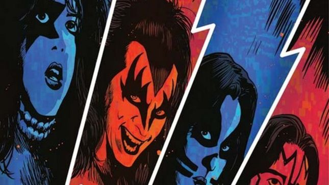 KISS Returns To Comic Books; First In New Series Coming In October