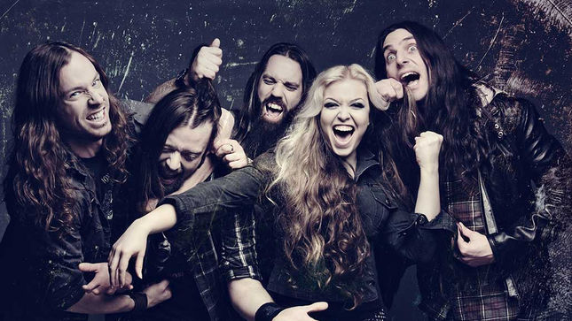 "THE AGONIST - Five Album Details Revealed; ""The Chain"" Lyric Video Streaming"