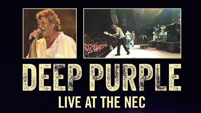 DEEP PURPLE Live At The NEC To Be Released On DVD, Digital Formats In August
