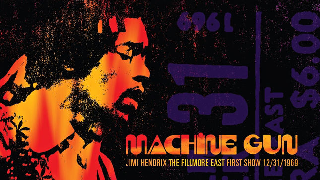 "JIMI HENDRIX - ""Izabella"" Track Streaming From Machine Gun: The Fillmore East First Show 12/31/69"
