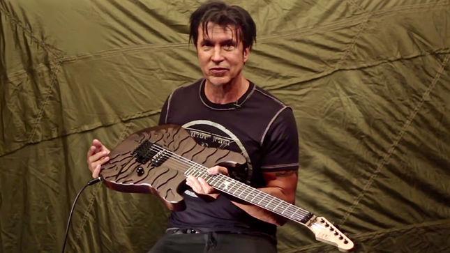 george lynch offers details on new ltd signature series guitar the gl burnt tiger video. Black Bedroom Furniture Sets. Home Design Ideas