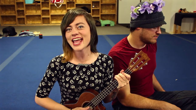 "SLAYER - Ukulele Cover Of ""Payback"" By ROB SCALLON Featuring SARA LONGFIELD; Video"