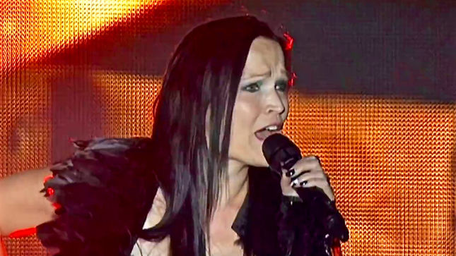 "TARJA Joins WITHIN TEMPTATION For ""Paradise (What About Us?)"" Performance At M'Era Luna Festival; Pro-Shot Video Posted"