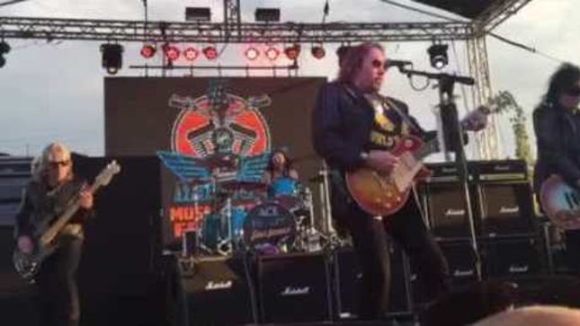 ACE FREHLEY - Fan-Filmed Video From MotorCity Harley-Davidson Music + Food Festival Performance Posted