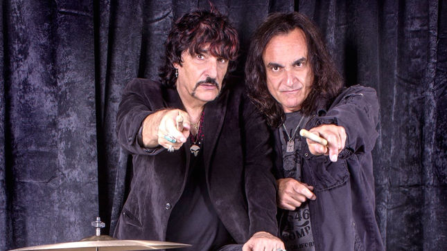 "Legendary Drummers CARMINE And VINNY APPICE Cover BLACK SABBATH's ""The Mob Rules""; Video"