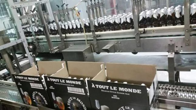 "MEGADETH - ""ГЂ Tout Le Monde Signature Beer Bottling Has Begun"""