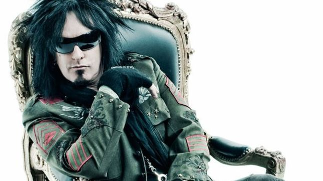 "NIKKI SIXX Gives Advice To His 21-Year-Old Self - ""Try Not To Snort Colombia"""