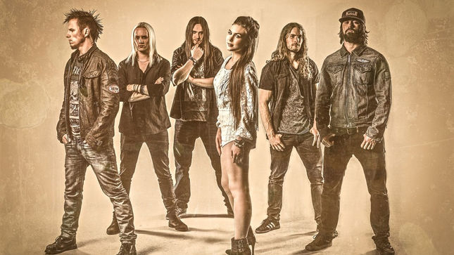 AMARANTHE Perform Two New Songs Acoustic At Japan's Bay-FM 78.0 (Audio)