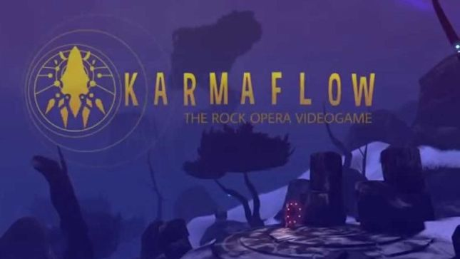 Karmaflow Rock Opera Video Game Soundtrack Featuring Members Of DELAIN, ARCH ENEMY, CRADLE OF FILTH, AMARANTHE, SONATA ARCTICA And More Available In November