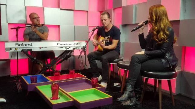 EPICA Perform Acoustic Songs From The Holographic Principle At Brazil's R7 Pop Studio; Video Available