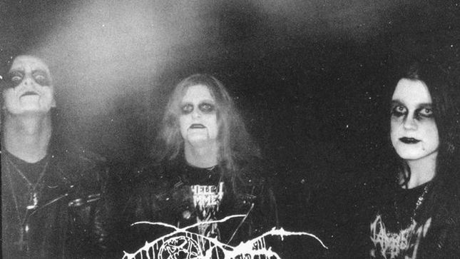Darkthrone A Blaze In The Norther Sky Under A Funeral