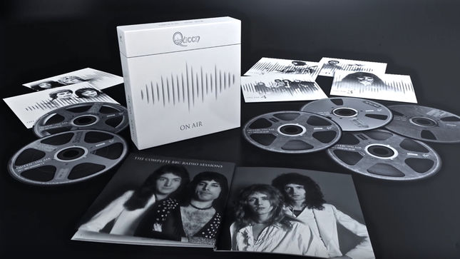 QUEEN - Unboxing Video Posted For Deluxe Boxset Edition Of Upcoming On Air: The Complete BBC Sessions