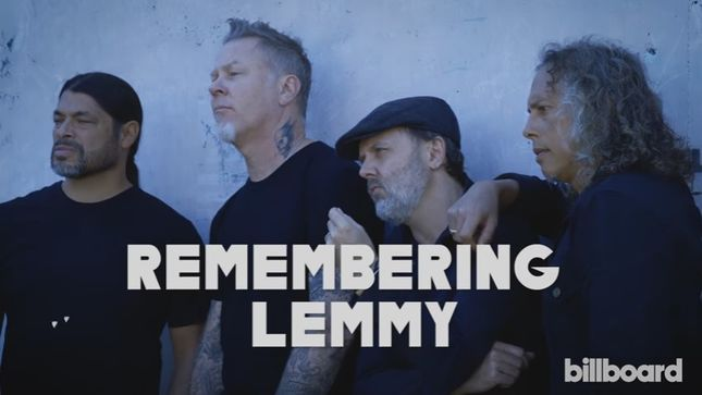"""METALLICA Remember Lemmy – """"The Reason I Wanted To Be In A"""