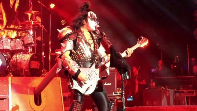 "KISS Perform Creatures Of The Night Rarity ""Rock And Roll Hell"" On KISS Kruise VI; Fan-Filmed Video Posted"