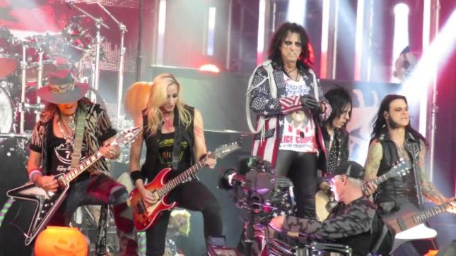 "ALICE COOPER - Pro-Shot Footage Of ""Elected"" Performance On Jimmy Kimmel Live! Posted"