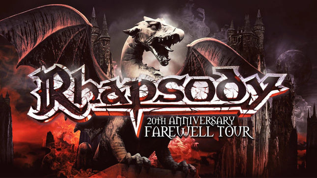 RHAPSODY Announce Second Leg Of Latin America 20th Anniversary Farewell Tour