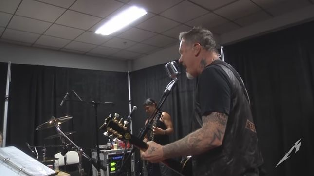 Metallica metontour video from the tuning room meet greet in metallica metontour video from the tuning room meet greet in san jos streaming m4hsunfo Gallery