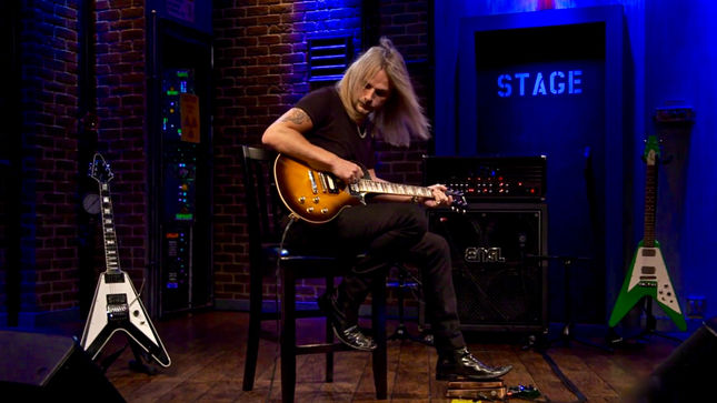 "JUDAS PRIEST Guitarist RICHIE FAULKNER Performs ""Find The Feel"" Live on EMGtv; Video"