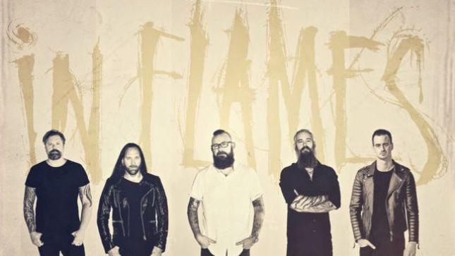 IN FLAMES - International Chart Positions For Battles Album Revealed
