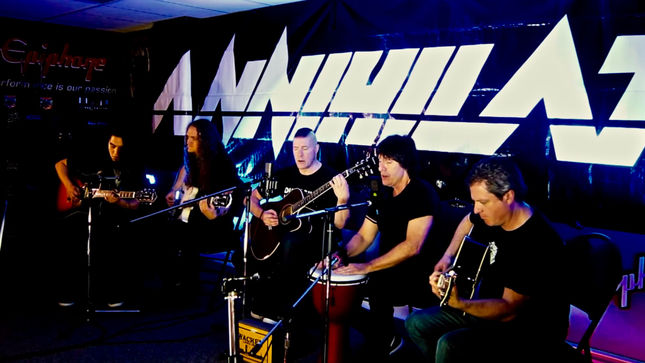 "ANNIHILATOR Release ""Sounds Good To Me"" Acoustic Video From Upcoming Triple Threat Collection"