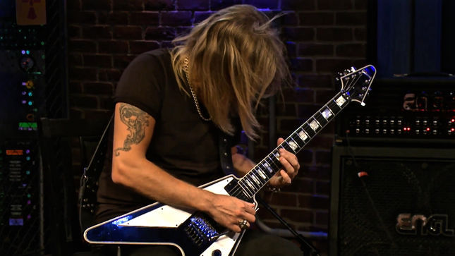 "JUDAS PRIEST Guitarist RICHIE FAULKNER Performs Original Track ""Hosnian Prime"" Live On EMGtv; Video"