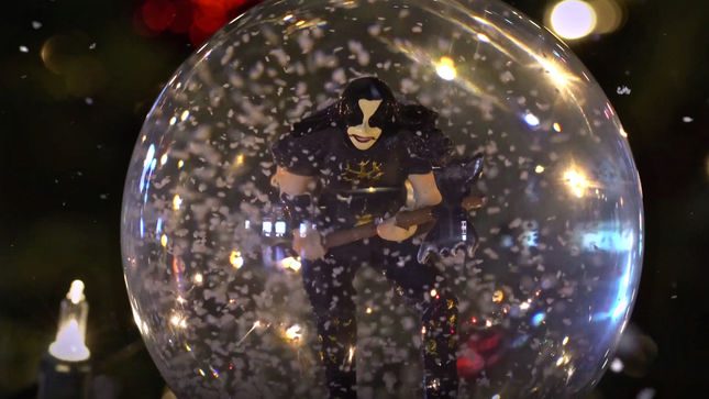 Banger Offer Holiday Greetings With ABBATH Snow Globe; Video