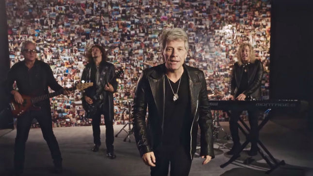 "BON JOVI Premier ""New Years Dayќ Music Video"