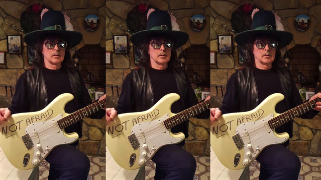 """RITCHIE BLACKMORE, ROBERT PLANT, STEVE VAI, BRIAN MAY, HEART And Many More Featured In Refugee Support Video """"We Are Not Afraid"""""""