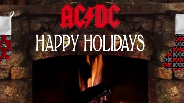 AC/DC - Fireplace Holiday Version Of