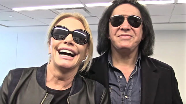 "GENE SIMMONS' Wife SHANNON TWEED On Her Husband's Famous Tongue - ""Why Do You Think I'm Still Here After 34 Years""; Video"