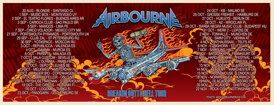 airbourne - diamond cuts box set due next month