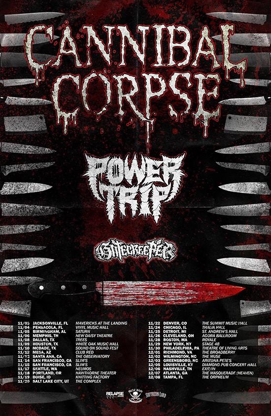 Cannibal Corpse Completes New Album Announces Us Tour