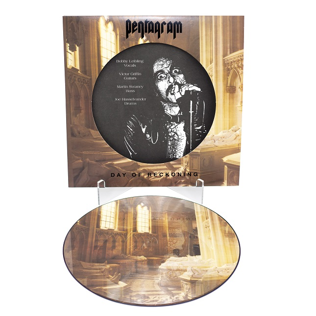 Pentagram Day Of Reckoning 30th Anniversary Picture Disc