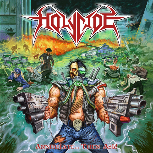 HOLYCIDE Launch Comic Lyric Video For MOTÖRHEAD Tribute