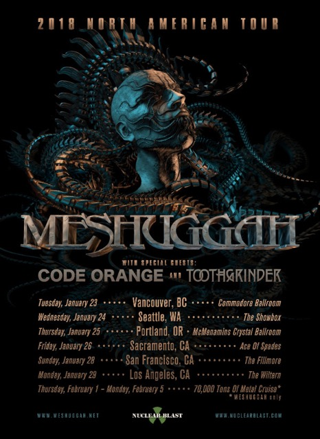 Meshuggah - The Ophidian Trek (2016, Swirled Gold, Vinyl ...