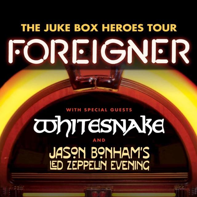 Whitesnake To Join Foreigner Jason Bonham On Summer 2018