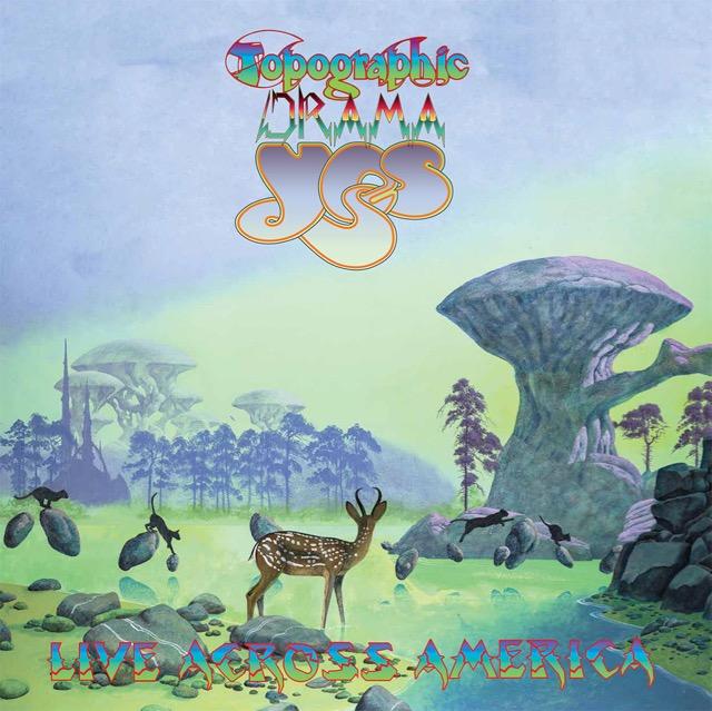 Yes Release Topographic Drama Live Across America Album