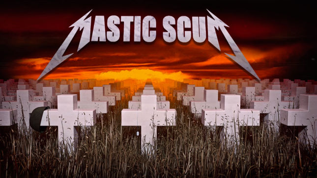 "MASTIC SCUM Cover METALLICA's ""Damage Inc.""; Audio Streaming"