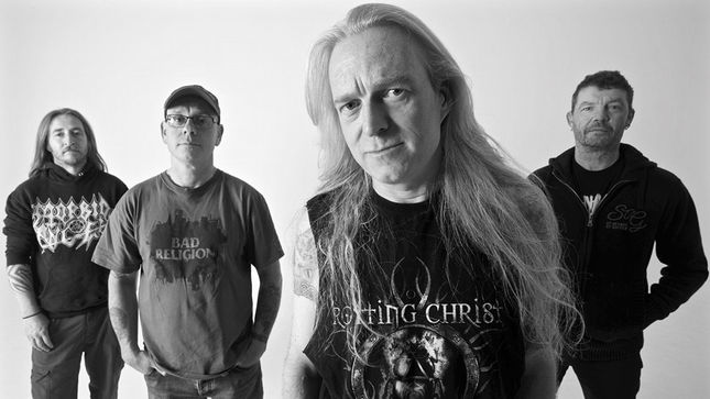 MEMORIAM Featuring BOLT THROWER, BENEDICTION Members Release Video Trailer #3 For The Fallen Album