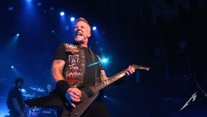 "METALLICA Frontman JAMES HETFIELD - ""Making Music, Releasing Music, Having Other People Listen To Music, That Makes Me Happy"""