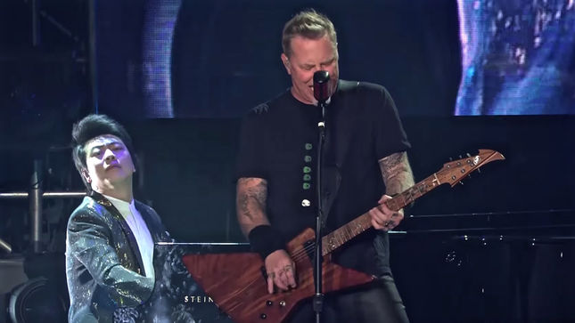 METALLICA Release Pro-Shot Video From Beijing Performance With Classical Pianist LANG LANG