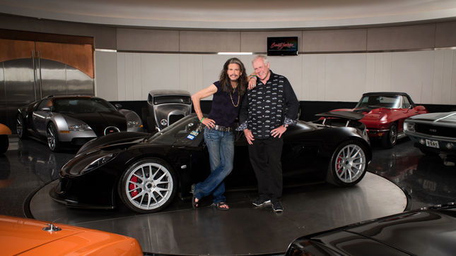 Barrett Jackson Auction 2017 >> Steven Tyler S Rare Hennessey Venom Gt Spyder Goes For