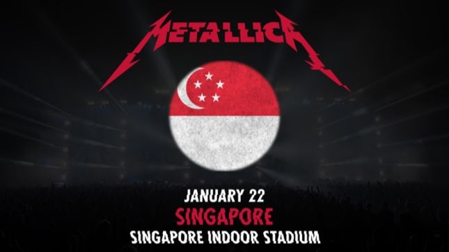 METALLICA - Fan-Filmed Video From Singapore Show Posted