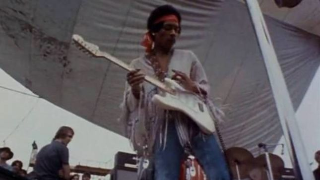 "JIMI HENDRIX - Estate Allows Use Of ""Purple Haze"" And ""Voodoo Child"" For Booze"