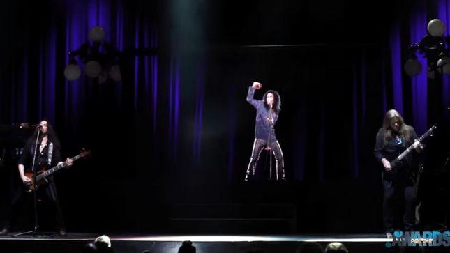 RONNIE JAMES DIO Hologram Makes US Debut At Pollstar Awards; Video
